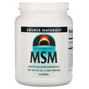 Сорс Начэралс, MSM Powder, 35 oz (1,000 g) отзывы