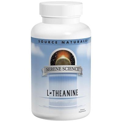 Купить L-теанин, 200 мг, 60 таблеток