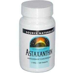 Сорс Начэралс, Astaxanthin, 2 mg, 120 Tablets отзывы
