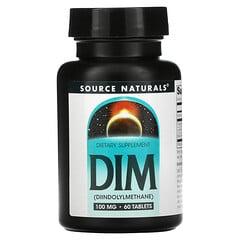 Source Naturals, DIM,100 毫克,60 片