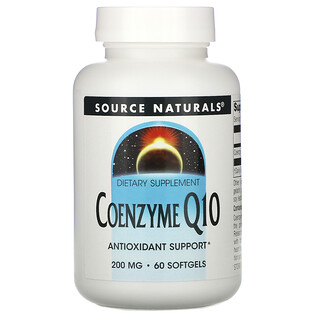 Source Naturals, Coenzyme Q10, 200 mg, 60 Softgels