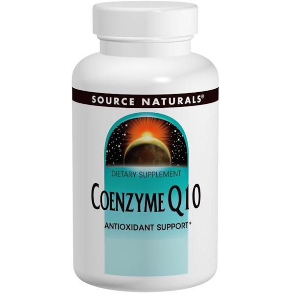 Source Naturals, Coenzyme Q10, 200 mg, 60 Softgels