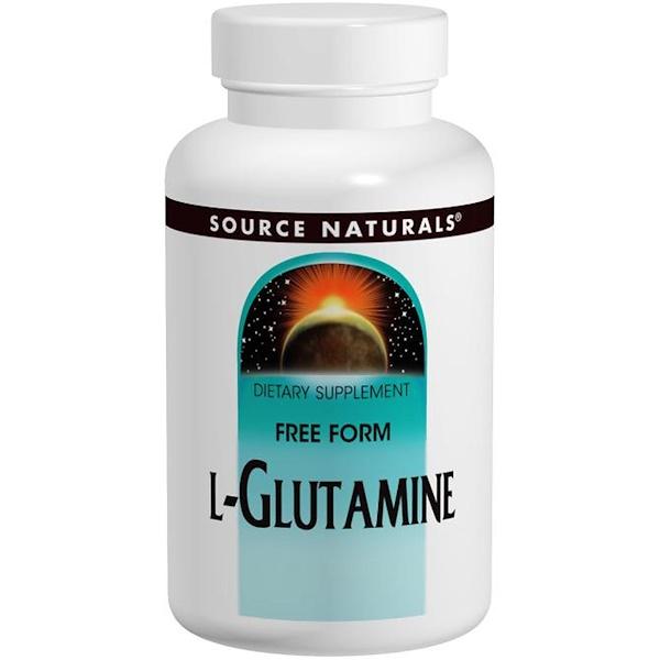 Source Naturals, L-Glutamine, Free-Form Powder, 16 oz (453.6 g) (Discontinued Item)