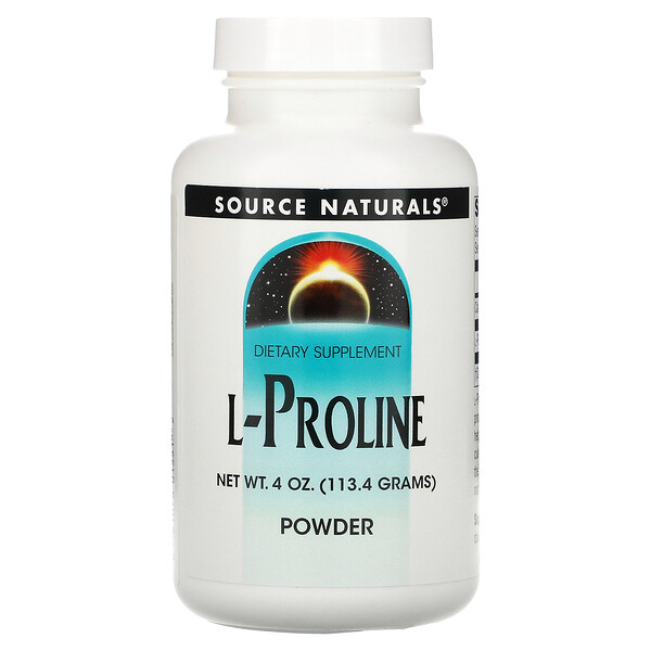 L-Proline Powder, 4 oz (113.4 g)