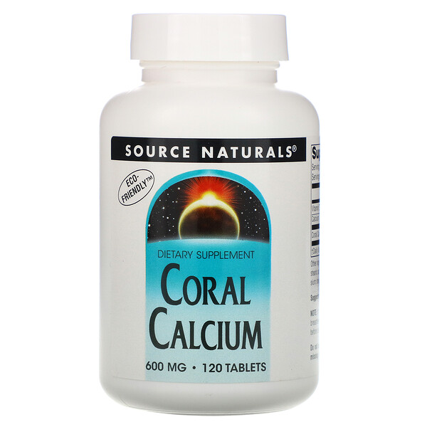 Coral Calcium, 600 mg, 120 Tablets