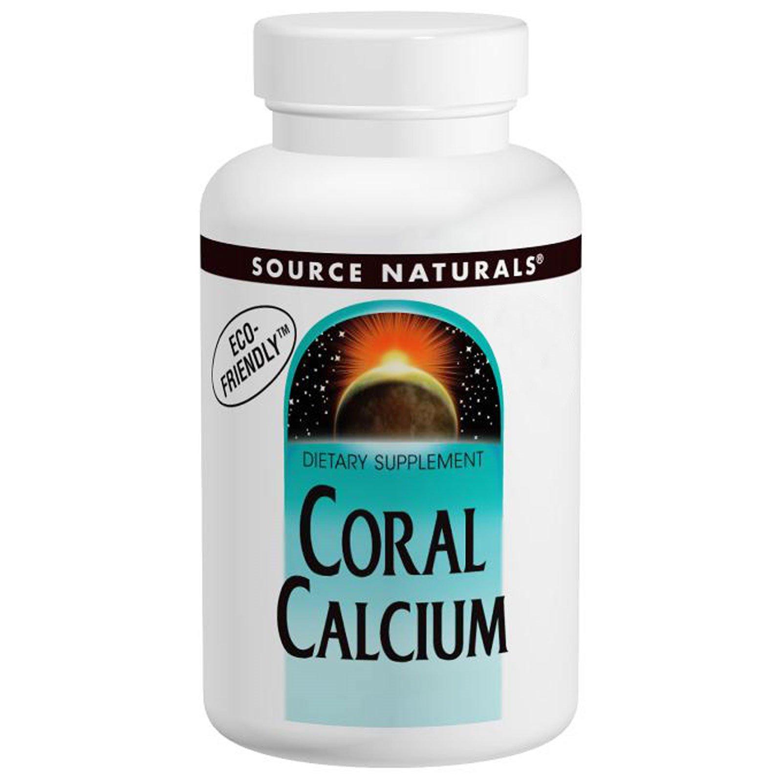 Source Naturals, Кальций из кораллов, порошок, 2 унции (56,7 г)