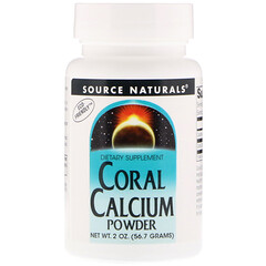 Source Naturals, 珊瑚鈣粉,2 盎司(56.7 克)