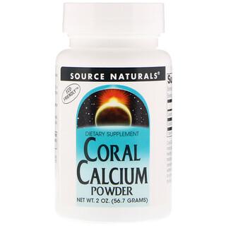 Source Naturals, Coral Calcium, Powder, 2 oz (56.7 g)