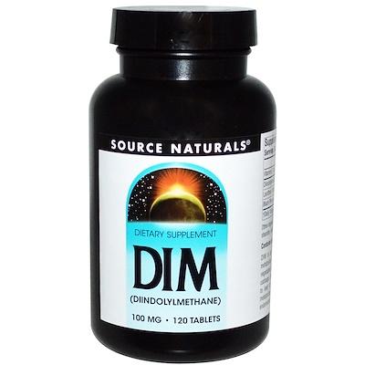 Купить DIM (дииндолилметан), 100 мг, 120 таблеток