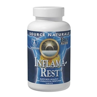 Source Naturals, Inflama-Rest, 60 Tablets