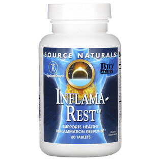 Source Naturals, Inflama-Rest, 60 Tablets