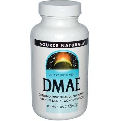 ДМАЭ, 351 мг, 200 капсул