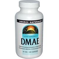 DMAE, 351 мг, 200 капсул - фото