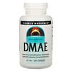 Source Naturals, DMAE, 351 mg, 200 Capsules