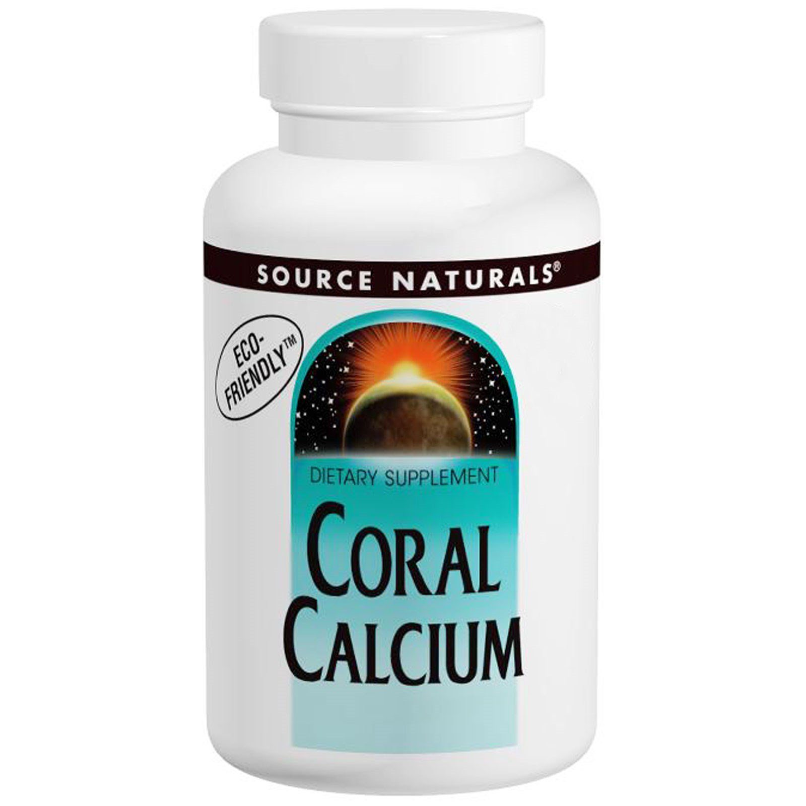 Source Naturals, Коралловый кальций, 600 мг, 120 капсул