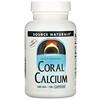 Source Naturals, Coral Calcium, 600 mg, 120 Capsules