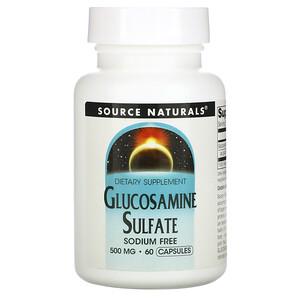 Сорс Начэралс, Glucosamine Sulfate, 500 mg, 60 Capsules отзывы покупателей