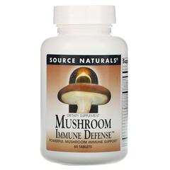 Source Naturals, 蘑菇抵抗防禦, 16 種蘑菇,60片