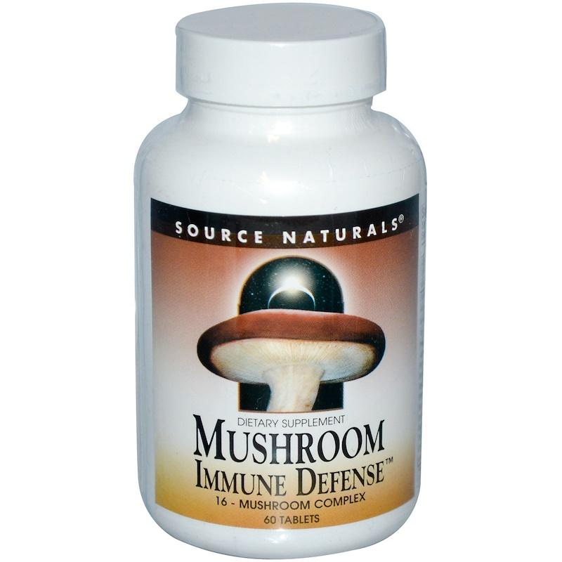 Mushroom Immune Defense, 16-Mushroom Complex, 60 Tablets