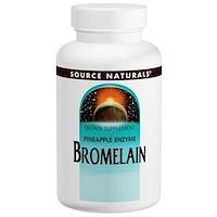 Бромелаин, 2 000 GDU/г, 500 мг, 60 капсул - фото