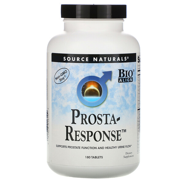 Source Naturals, Prosta-Response, 180 Tablets