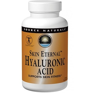 Source Naturals, Ewige Haut Hyaluronsäure, 50 mg, 60 Tabletten