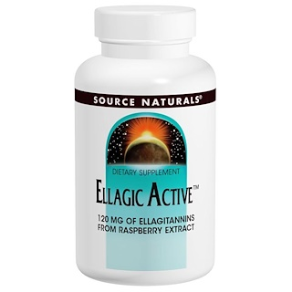 Source Naturals, Ellagic Active, 300 mg, 60 Tablets
