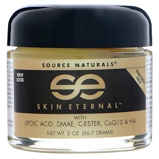Source Naturals, Skin Eternal Cream, 2 oz (56.7 g)