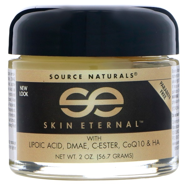 Source Naturals, Creme Skin Eternal, 56,7 g