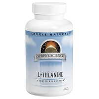 L-Тианин, 200 мг, 60 капсул - фото
