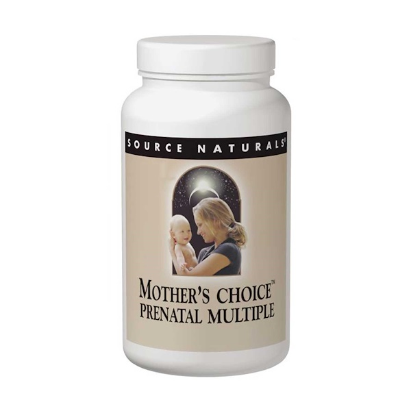 Source Naturals, Mother's Choice, Prenatal Multiple, 120 Tablets & 30 Softgels (Discontinued Item)