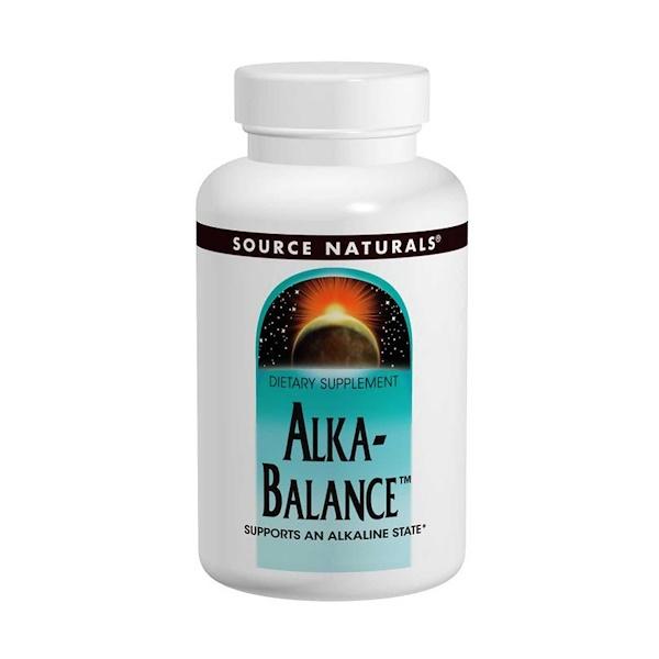Source Naturals, Alka-Balance, 120 Tablets (Discontinued Item)