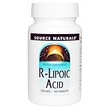 Отзывы о Source Naturals, R-липоевая кислота, 100 мг, 60 таблеток