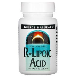 Source Naturals, R-LiponsΣure, 100 mg, 60 Tabletten