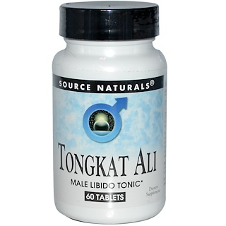 Source Naturals, Tongkat Ali, 60 Tablets