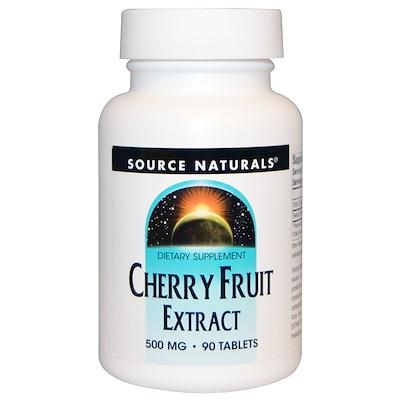 Фото Экстракт ягод вишни, 500 мг, 90 таблеток