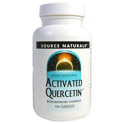 Активированный кверцетин, 100 капсул
