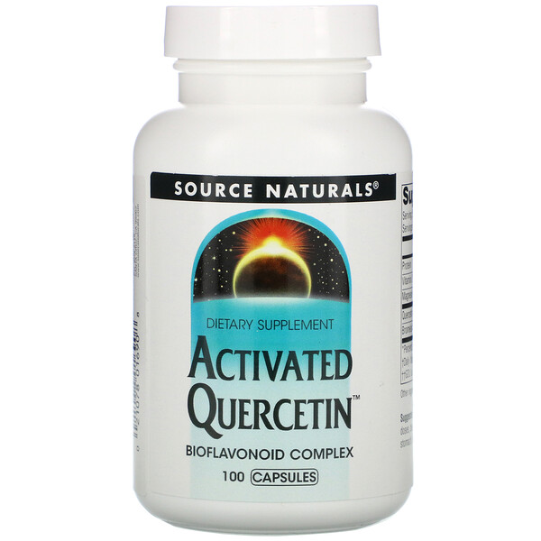 Source Naturals, Activated Quercetin, 100 Capsules