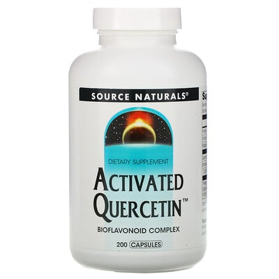 Source Naturals Активированный кверцетин, 200 капсул