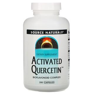 Source Naturals, ActivatedQuercetin, 200cápsulas