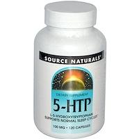 5-HTP, 100 мг, 120 капсул - фото