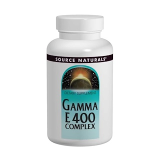 Source Naturals, Gamma E 400 Complex, 60 Softgels