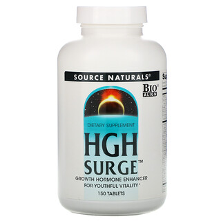 Source Naturals, HGH Surge، 150 قرص