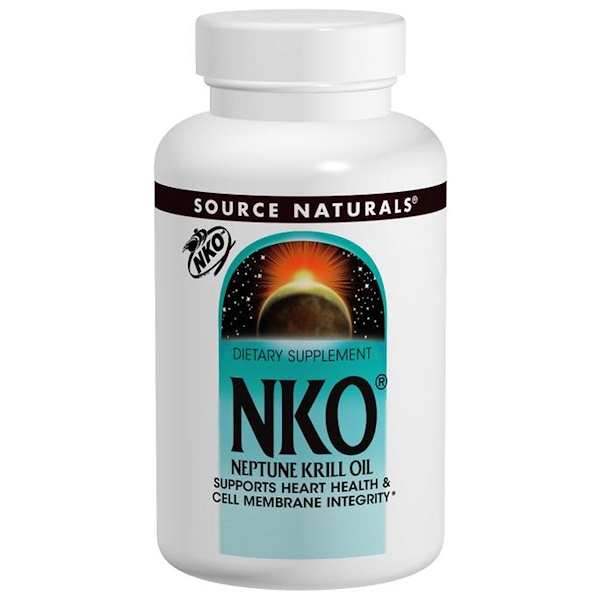 Source Naturals, NKO (Neptune Krill Oil), 500 mg, 30 Softgels (Discontinued Item)