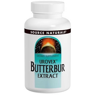 Source Naturals, Urovex Butterbur Extract, 60 Softgels