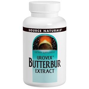 Сорс Начэралс, Urovex Butterbur Extract, 60 Softgels отзывы