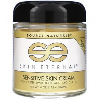 Source Naturals, Skin Eternal, Sensitive Skin Cream, 4 oz (113.4 g)