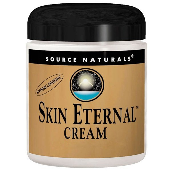 Source Naturals, Skin Eternal Cream, For Sensitive Skin, 4 oz (113.4 g)