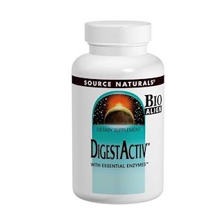 Source Naturals, DigestActiv, 120 Capsules