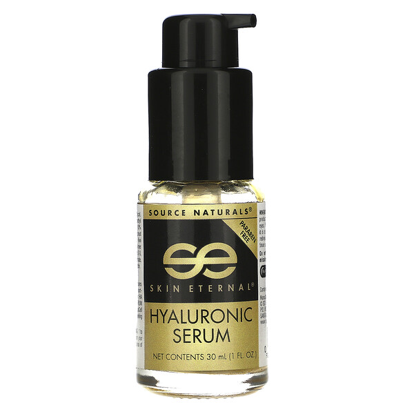 Source Naturals, Skin Eternal, Hyaluronic Serum, 1 fl oz (30 ml)